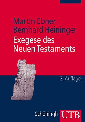 9783825226770: Exegese des Neuen Testaments