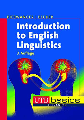 9783825227524: Introduction to English Linguistics. UTB basics