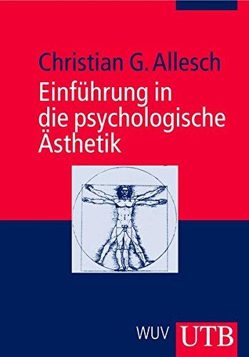 9783825227739: Einführung in die psychologische Ästhetik.