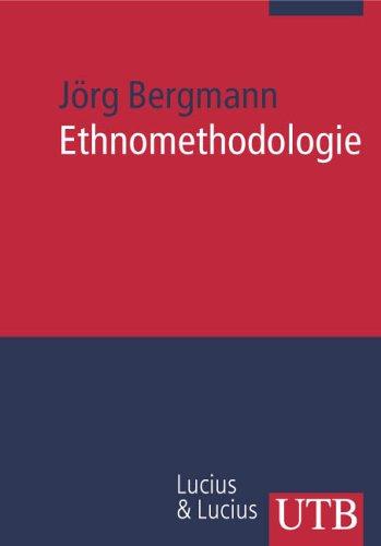 9783825228156: Ethnomethodologie