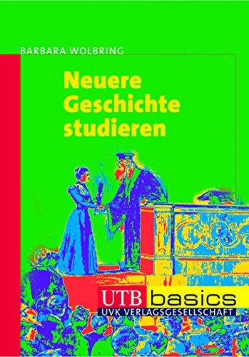 9783825228347: Neuere Geschichte studieren