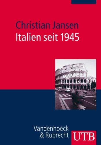 9783825229160: Italien seit 1945 (EUROPAISCHE ZEITGESCHICHTE / UTB)
