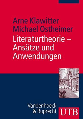 9783825230555: Literaturtheorie - Ansatze und Anwendungen (Utb)