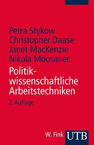 9783825231378: Politikwissenschaftliche Arbeitstechniken