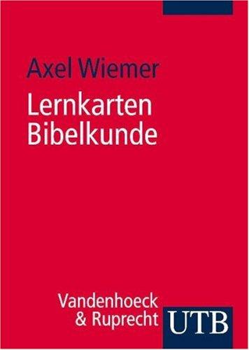9783825232078: Lernkarten Bibelkunde