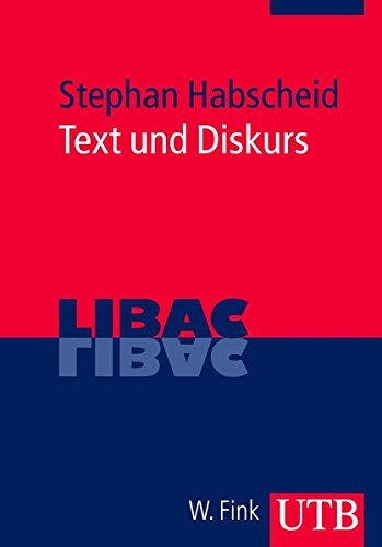 9783825233495: Text und Diskurs. LIBAC