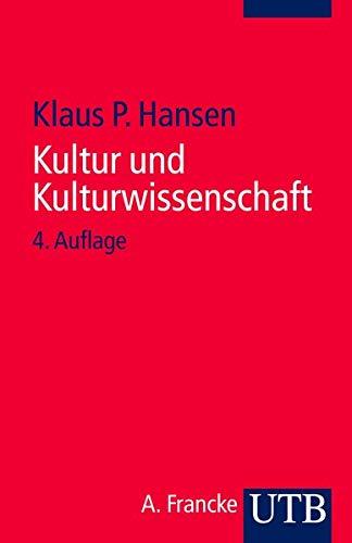 9783825235499: Kultur und Kulturwissenschaft: Eine Einführung