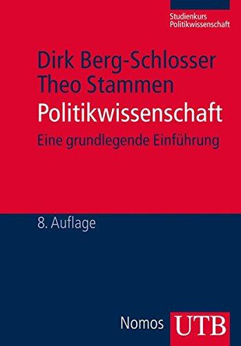 9783825237837: Berg-Schlosser, D: Politikwissenschaft
