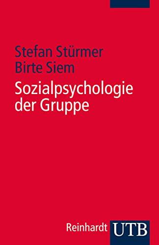 9783825238773: Sozialpsychologie der Gruppe