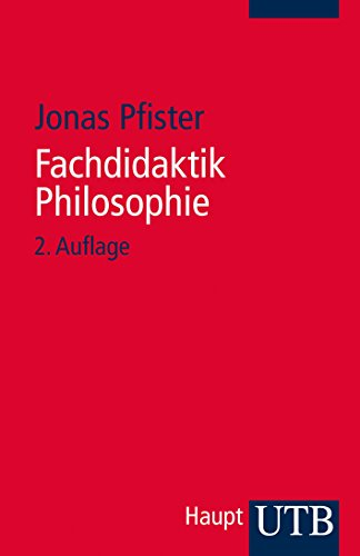 Fachdidaktik Philosophie: Jonas Pfister
