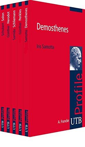 9783825242350: Profile Paket Altertumswissenschaft: Demosthenes. Perikles. Schliemann. Herodot. Solon