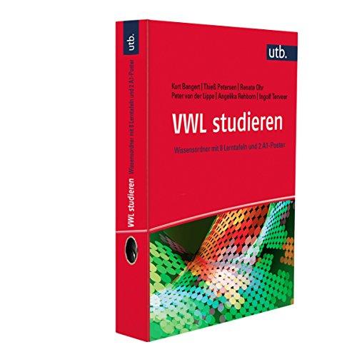 9783825244262: VWL studieren: Wissensordner mit 8 Lerntafeln und 2 A1-Poster