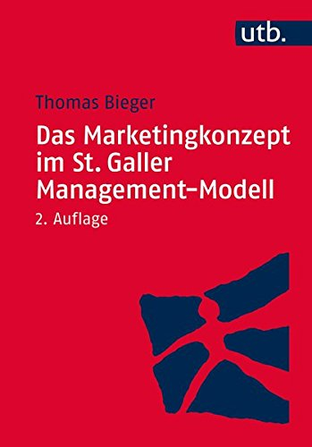 9783825244637: Das Marketingkonzept im St. Galler Management-Modell