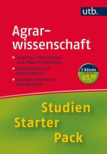 9783825244804: Studien-Starter-Pack Agrarwissenschaft: Dreibändige Handbibliothek für die erste Phase des Studiums