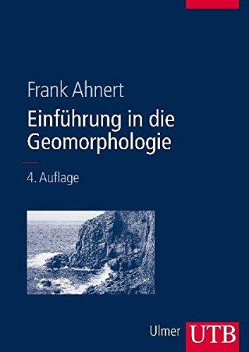 9783825281038: Einführung in die Geomorphologie.