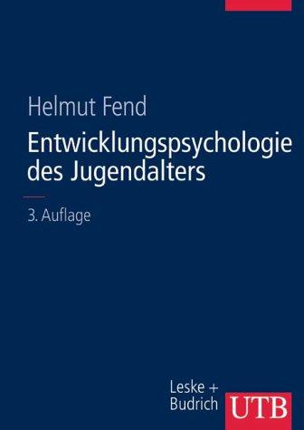 9783825281908: Entwicklungspsychologie des Jugendalters. Ein Lehrbuch für pädagogische und psychologische Berufe.