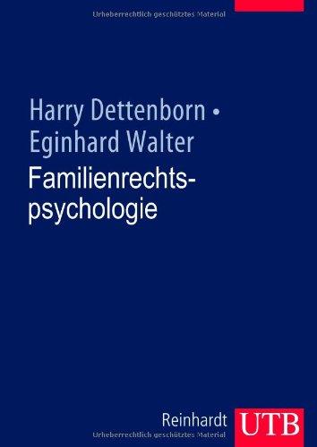 9783825282325: Familienrechtspsychologie