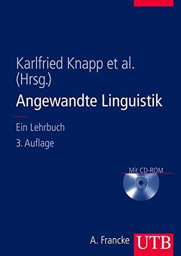 9783825282752: Angewandte Linguistik: Ein Lehrbuch