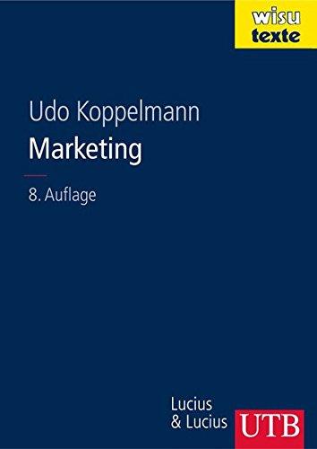 9783825283209: Marketing: Einf�hrung in Entscheidungsprobleme des Absatzes und der Beschaffung