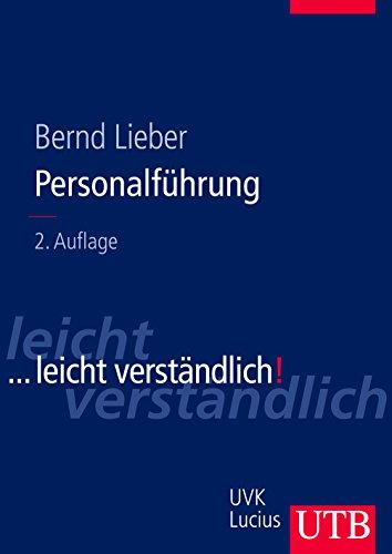 9783825283650: Personalführung: ... leicht verständlich (Uni-Taschenbücher L)