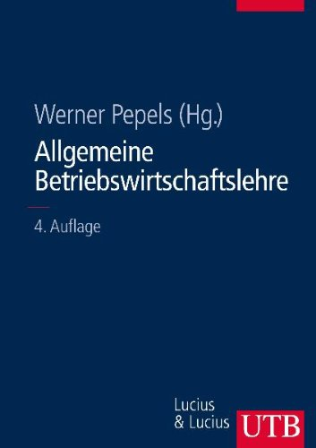 9783825284206: Allgemeine Betriebswirtschaftslehre
