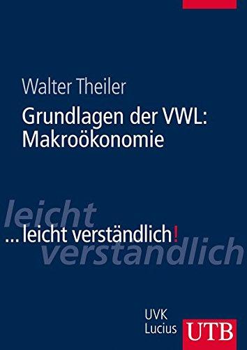 9783825284909: Grundlagen der VWL: Makroökonomie
