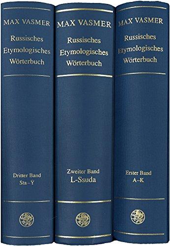 9783825306656: Russisches Etymologisches Wörterbuch