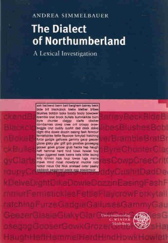 9783825309343: The dialect of Northumberland: A lexical investigation (Anglistische Forschungen)