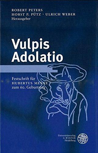 Vulpis Adolatio: Robert Peters