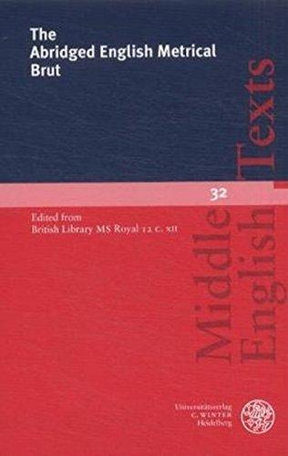 The Abridged English Metrical Brut - Una O'Farrel-Tate