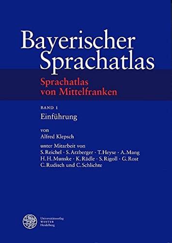 9783825314224: Sprachatlas von Mittelfranken