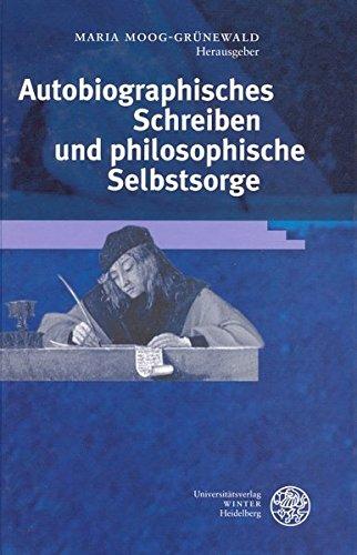 9783825315023: Autobiographisches Schreiben und philosophische Selbstsorge