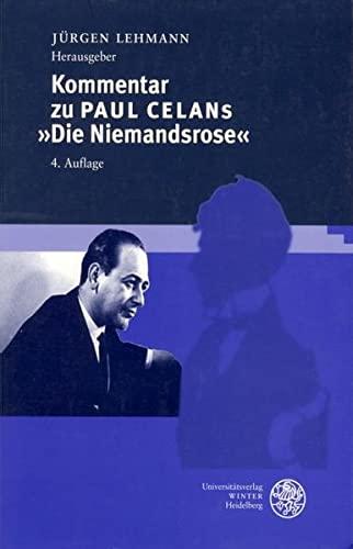 9783825315139: Kommentar zu Paul Celans