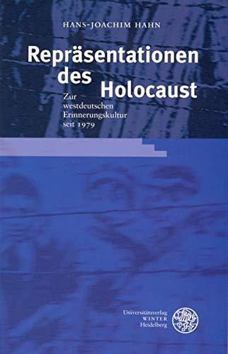 9783825316365: Hahn, H: Repräsentationen d. Holocaust