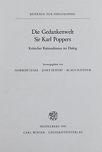 Die Gedankenwelt Sir Karl Poppers : Kritischer Rationalismus im Dialog - Norbert Leser
