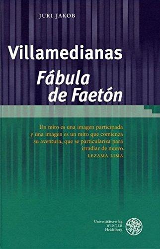 Villamedianas 'Fábula de Faetón': Juri Jakob