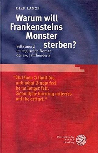 Warum will Frankensteins Monster sterben?: Dirk Lange