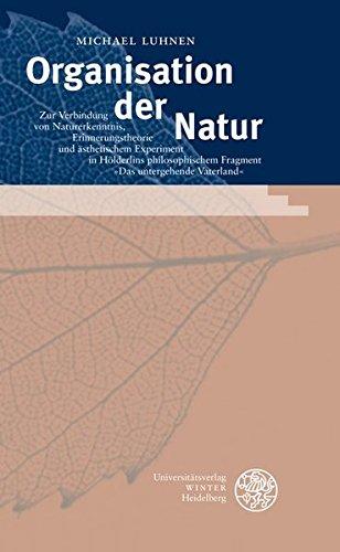 Organisation der Natur: Michael Luhnen