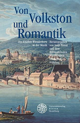 9783825353339: Von Volkston und Romantik: