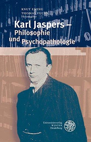 9783825353520: Karl Jaspers - Philosophie und Psychopathologie