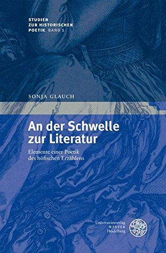 An der Schwelle zur Literatur: Sonja Glauch
