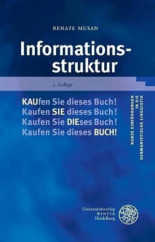 9783825357306: Informationsstruktur