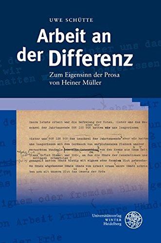 Arbeit an der Differenz: Uwe Schütte