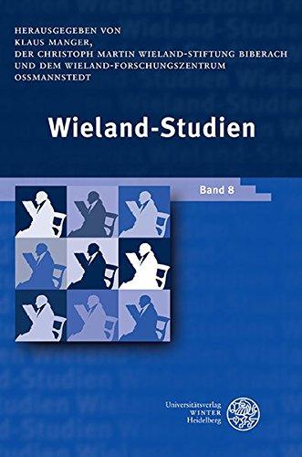 9783825362584: Wieland-Studien 08. Aufsätze . Texte und Dokumente