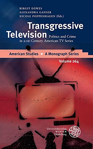 9783825365448: Transgressive Television: Politics and Crime in 21st-Century American TV Series (American Studies - A Monograph)