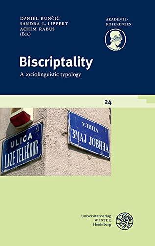 9783825366254: Biscriptality: A sociolinguistic typology (Akademiekonferenzen)
