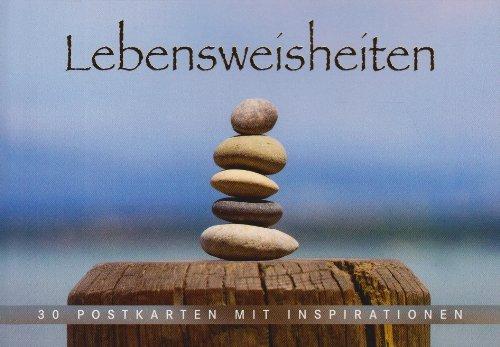 9783825654160: Lebensweisheiten: 30 Postkarten mit Inspirationen