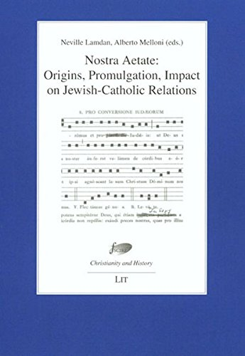 9783825806781: Nostra Aetate: Origins, Promulgation, Impact on Jewish-Catholic Relations. Proceedings of the International Conference Jerusalem, 30 October - 1 ... Foundation for Religious Studies in Bologna)