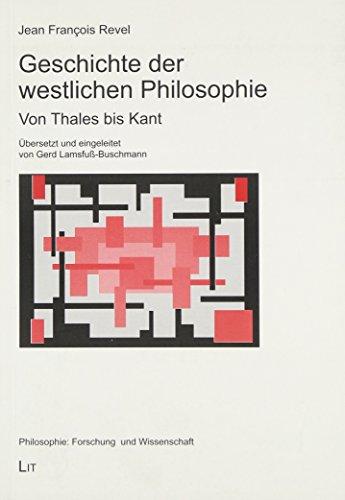 9783825811686: Geschichte der westlichen Philosophie: Von Thales bis Kant
