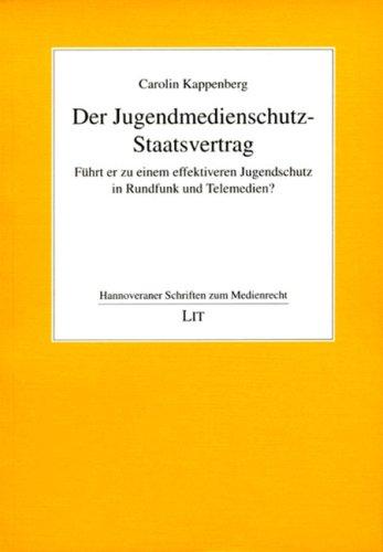 9783825816261: Der Jugendmedienschutz-Staatsvertrag